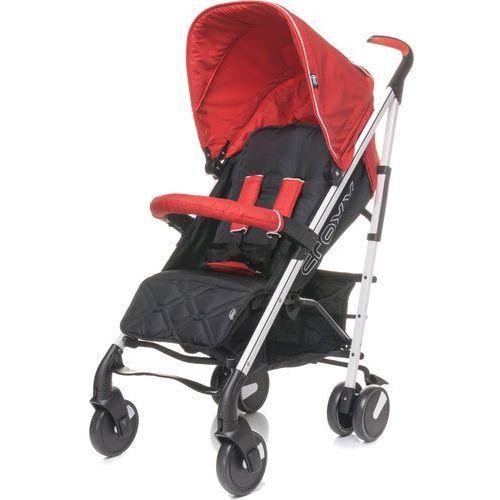 4baby wózek spacerowy croxx 2017, red