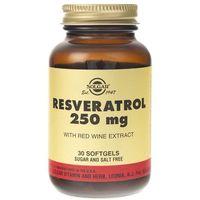 Solgar Resveratrol 250 mg - 30 kapsułek