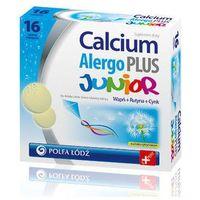 Tabletki CALCIUM ALERGO PLUS JUNIOR x 16 tabletek musujących