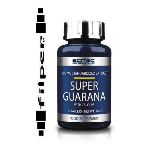 SCITEC SUPER GUARANA 100 TABL