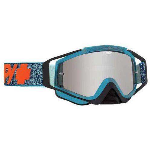Spy Gogle narciarskie klutch stonewash - happy bronze w/ silver mirror + clear afp