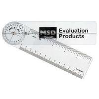 Goniometr plastikowy MSD 20 cm 0 - 360 st. co 2 st. 08-030111
