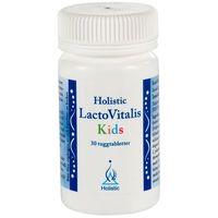 Tabletki Probiotyk dla Dzieci Jelitowa Flora Bakteryjna LactoVitalis Kids Holistic 30 tabl