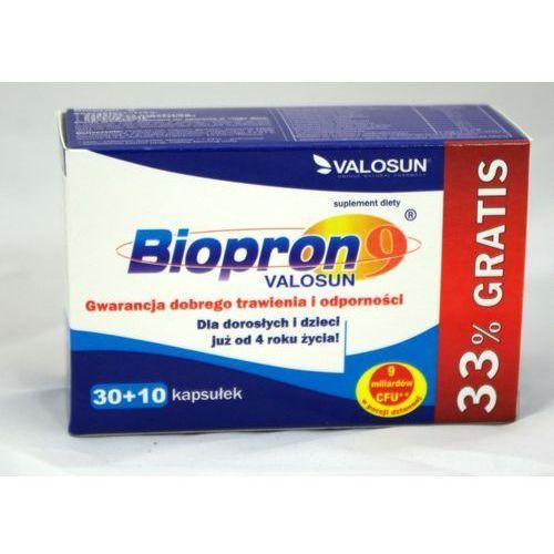 Biopron 9 + 33% Gratis kaps. - 30 kaps. (+10 kaps.)