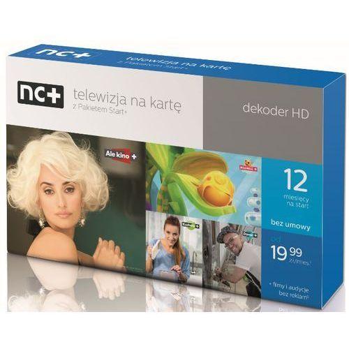 Dekoder Nc Na Karte.Dekoder Nc Iti5800s Z Usługą Telewizja Na Kartę Pakiet Start Na 12 M Cy
