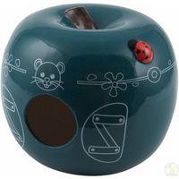 Zolux domek ceramiczny jabłko niebieski- rób zakupy i zbieraj punkty payback - darmowa wysyłka od 99 zł