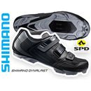 Shimano Eshxc31g390l buty rowerowe spd sh xc31 czarne roz 39  Buty rowerowe SPD Shimano SH XC31