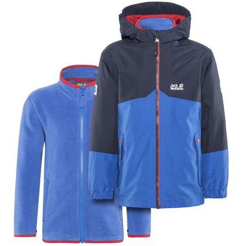 wiele kolorów unikalny design najnowszy B iceland kurtka dzieci niebieski/czarny 140 2018 kurtki przeciwdeszczowe  (Jack Wolfskin)