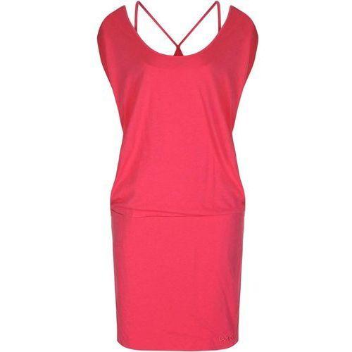 Sukienka BENCH - Superracer Pink (PK101) rozmiar: XL, kolor czerwony