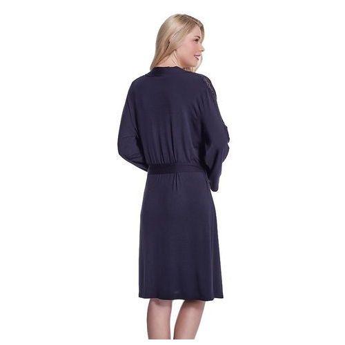 0d3ac40dd1fa12 ... Koszula nocna damska ERICA ze szlafrokiem L Srebrny - Galeria produktu  ...