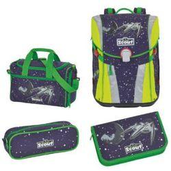 sunny plecak z akcesoriami szkolnymi, 4-częściowy - space marki Scout