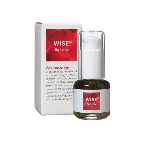 Wise naturkosmetik Ekologiczne serum do skóry wrażliwej, z egzemą, azs, stanami zapalnymi wise aroma serum sensitiv 15ml