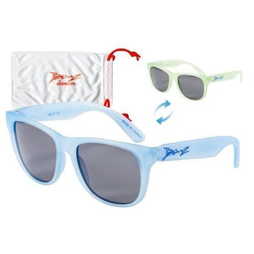 Okulary przeciwsłoneczne dzieci 4-10lat kameleon - blue to green marki Banz