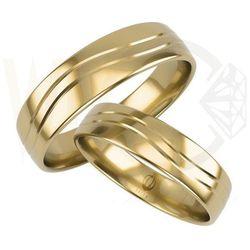 Obrączki ślubne  Łazur WĘC