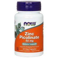 Minerały NOW Foods Zinc Picolinate 50mg 60 kaps Najlepszy produkt