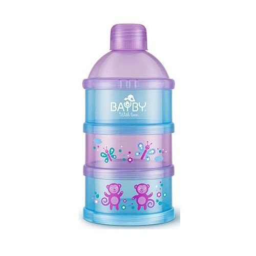 Bayby Pudełko na mleko bba 6409 fioletowo-niebieski