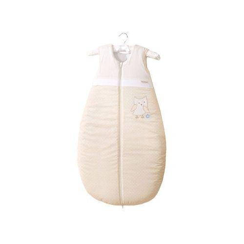 MAMO-TATO Śpiworek do 18 m-ca haftowany Sówki uszatki biszkoptowe