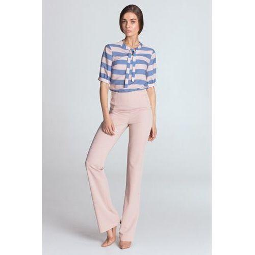 866d193f60746d Spodnie szwedy z szerokimi nogawkami mocca (Nife) opinie + recenzje ...