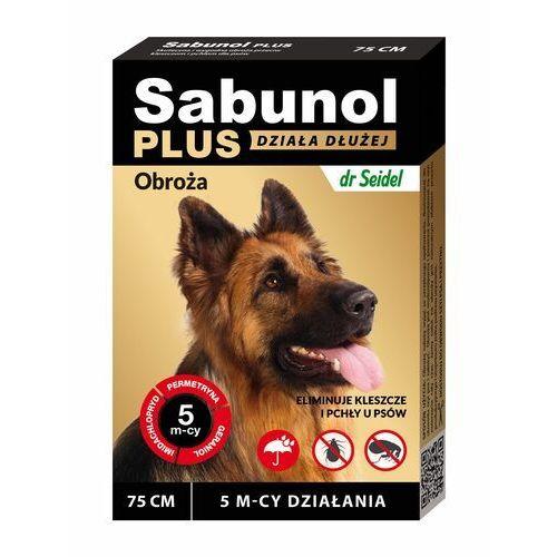 Sabunol Plus - Obroża przeciw pchłom i kleszczom dla psa 75cm (5901742001520)