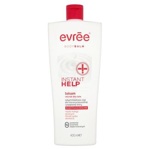 evree Body Balm Balsam do ciała Instant Help 400 ml, 5904730786034