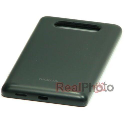 Klapka Baterii NOKIA Lumia 820 Oryginalna Czarna Nowa - Nowy \ Czarny