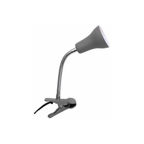 Lampka z klipsem Salta szara GU10 Inspire
