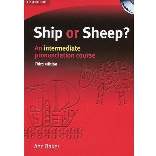 Ship or Sheep? Third edition, Intermediate, Book and Audio CD (4) Pack, oprawa miękka