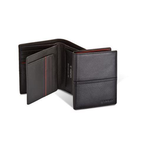6d3cae81baeb 154-467 black red diamond portfel męski ze skóry marki Valentini - foto 154 -467