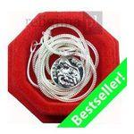 Medalik Św. Rity z łańcuszkiem - srebrny