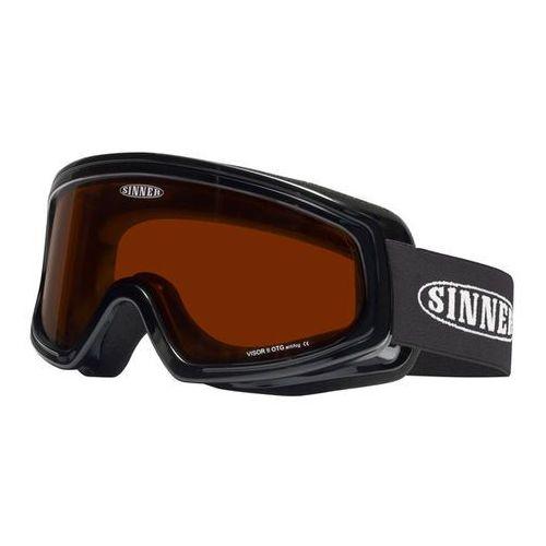 Sinner Gogle narciarskie visor ii over the glasses sigo-121 polarized 10-p01