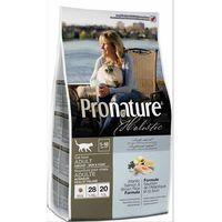 ProNature Holistic dla kotów niewychodzących Atlantycki łosoś i brązowy ryż 340g/2,72kg/5,44kg