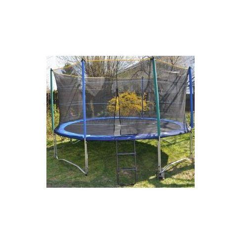 366 cm 12ft trampolina ogrodowa z siatk zabezpieczaj c i drabink euro opinie ceny. Black Bedroom Furniture Sets. Home Design Ideas