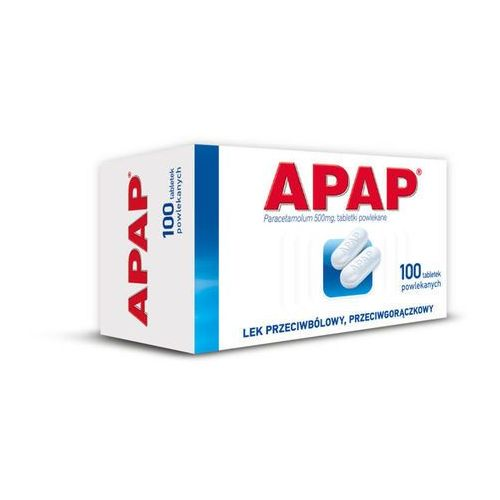 APAP 0,5 x 100 tabletek