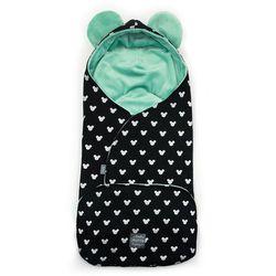 rożek niemowlęcy 2w1 z uszkami miki, mint marki Floo for baby