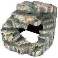 Trixie skałka narożna z jaskinia i platformą 19 x 17 x 17 cm - darmowa dostawa od 95 zł!