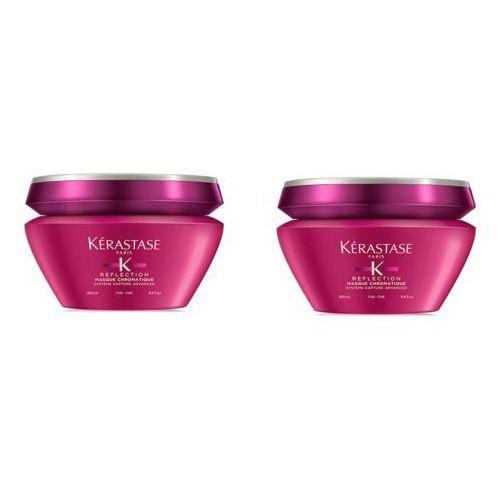 Zestaw chromatique fine mask | maska do włosów cienkich i farbowanych 200ml x2 Kerastase
