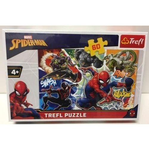 Puzzle 60 Waleczny Spider-Man TREFL