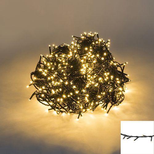 Oswietlenie swiateczne lancuch swietlny 720 LED barwa cieplo biala 54 m