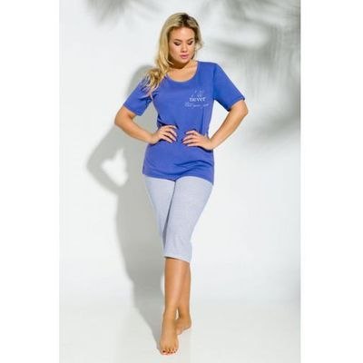 50f8b3627b7382 triumph everyday pizama niebieski w kategorii: Piżamy damskie ...