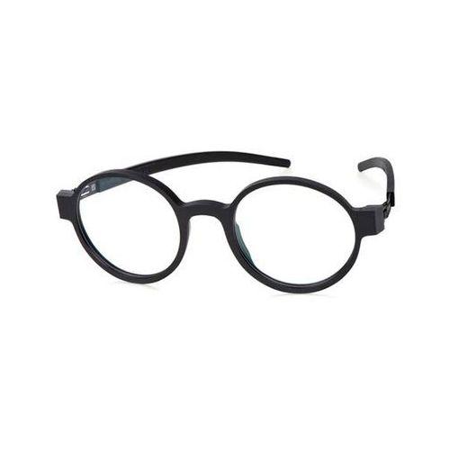 Ic! berlin Okulary korekcyjne a0620 ronny s. black-rough
