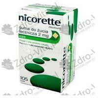 Nicorette Mint Guma 2 mg 105 szt.
