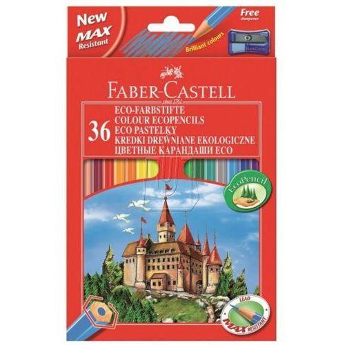 Kredki ołówkowe 36kol. Faber-Castell Eco + temp. 120136, 84805