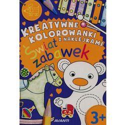 Avanti Kolorowanka. świat zabawek + zakładka do książki gratis