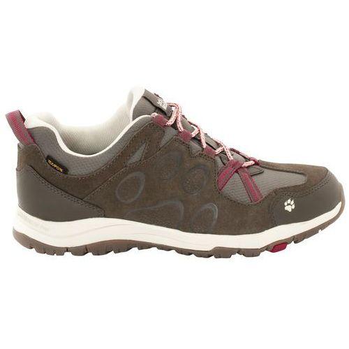 Jack wolfskin rocksand texapore buty kobiety brązowy uk 7,5   eu 41 2018 buty turystyczne