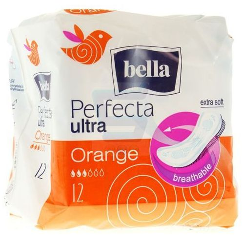 Bella perfecta podpaski ultra orange 12 szt. Toruńskie zakł.mat.opat