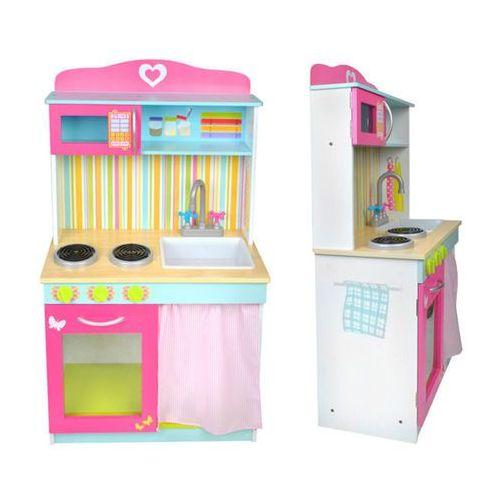 Kuchnia Zabawkowa Duża Drewniana Dla Dzieci Malatec