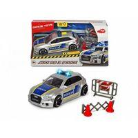 Pojazd sos policja audi rs3, 15 cm