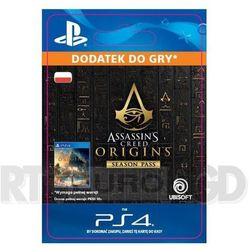 Assassin's creed origins - season pass [kod aktywacyjny] marki Sony