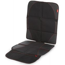 ochraniacz pod fotelik samochodowy z miejscem na zabawki ultra mat black marki Diono