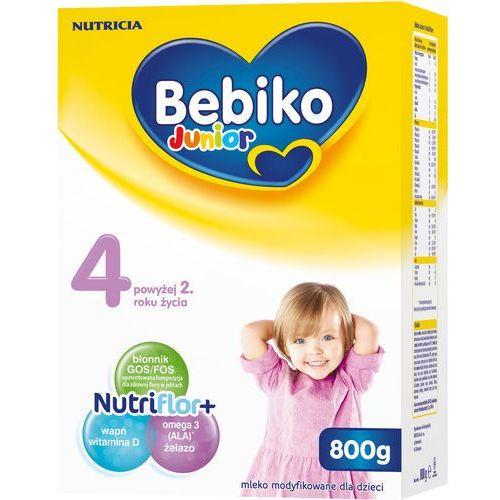BEBIKO 800g Junior 4 Mleko modyfikowane dla dzieci powyżej 2. roku życia